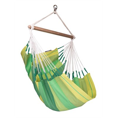 ORQU�DEA Volcano Basic Cotton Chair Hammock Color: Orquidea Jungle