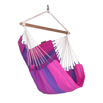 ORQU�DEA Volcano Basic Cotton Chair Hammock Color: Orquidea Purple
