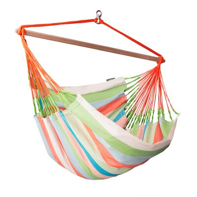 Domingo Weatherproof Lounger Olefin Chair Hammock Color: Multi