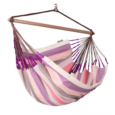 Domingo Weatherproof Lounger Olefin Chair Hammock Color: Plum