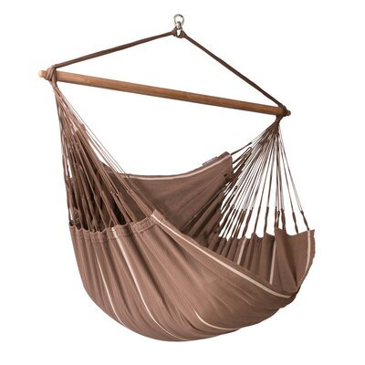 Habana Cotton Chair Hammock Color: Chocolate