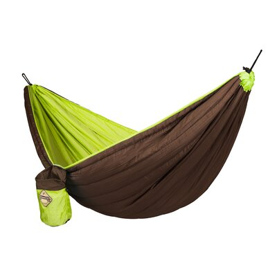 Colibri Nylon Camping Hammock Color: Green