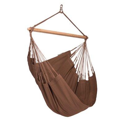 MODESTA Basic Cotton Chair Hammock Color: Arabica