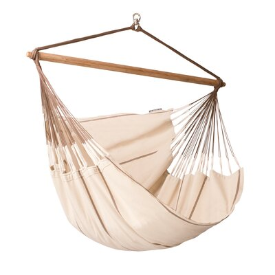 Habana Cotton Chair Hammock Color: Nougat