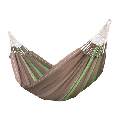 FLORA Organic Family Cotton Tree Hammock Color: Chocolate