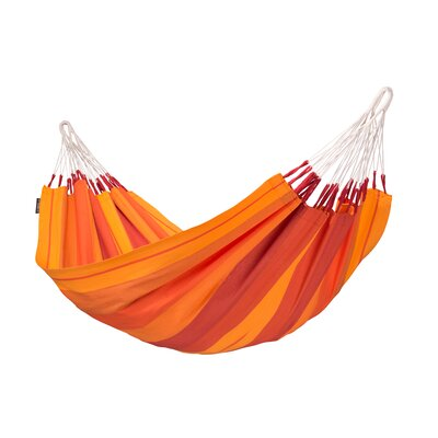 Orquidea Cotton Tree Hammock Color: Volcano