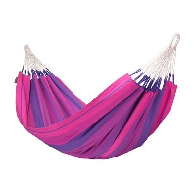 Orquidea Cotton Tree Hammock Color: Purple