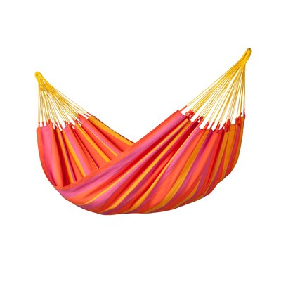 Sonrisa Weatherproof Single Olefin Tree Hammock Color: Mandarine