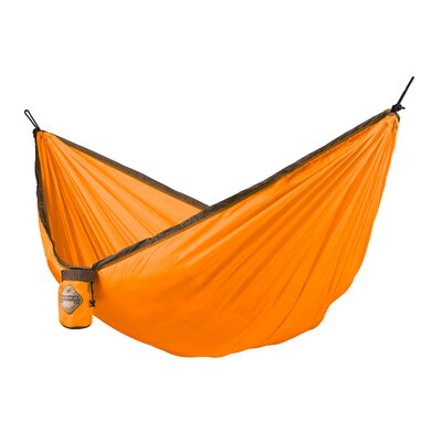 Colibri Single Travel Nylon Camping Hammock Color: Orange
