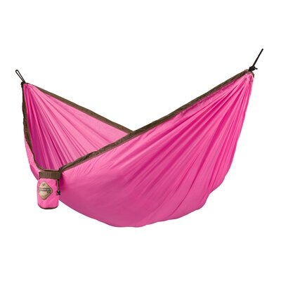 Colibri Single Travel Nylon Camping Hammock Color: Fuchsia