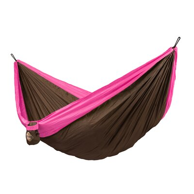 Colibri Double Travel Nylon Camping Hammock Color: Fuchsia