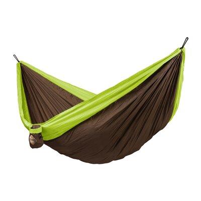 Colibri Double Travel Nylon Camping Hammock Color: Green