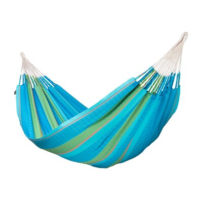 FLORA Organic Family Cotton Tree Hammock Color: Curacao