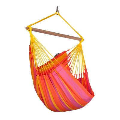 SONRISA Weatherproof Basic Olefin Chair Hammock Color: Mandarine