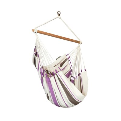 CARIBE�A Cotton Chair Hammock Color: Purple