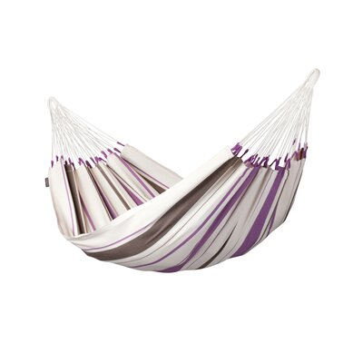 CARIBE�A Single Cotton Tree Hammock Color: Purple