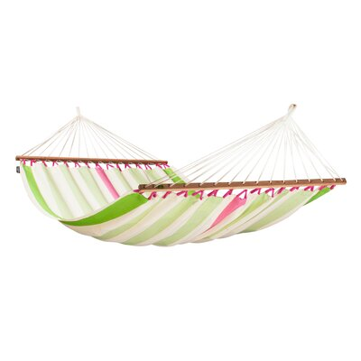 COLADA Weatherproof Double Spreader Olefin Tree Hammock Color: Kiwi