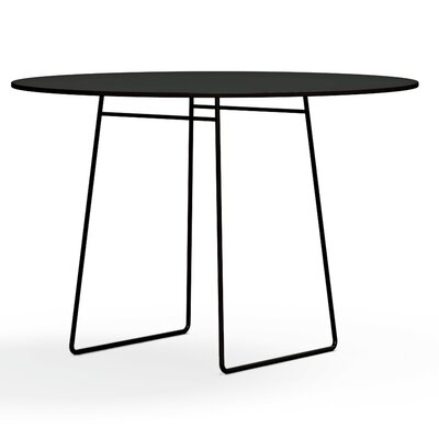 Reso Dining Table Finish: Charcoal Grey