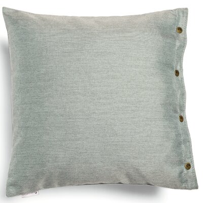 Ava Throw Pillow Fabric: Light Grey