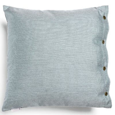 Ava Throw Pillow Fabric: Dark Blue