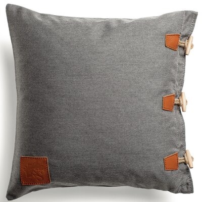 Hemse Outdoor Loveseat Cushion Fabric: Charcoal Chine