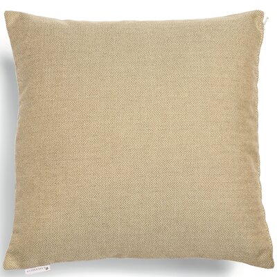 Larbo Throw Pillow Fabric: Light Grey