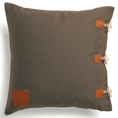 Hemse Outdoor Loveseat Cushion Fabric: Brown