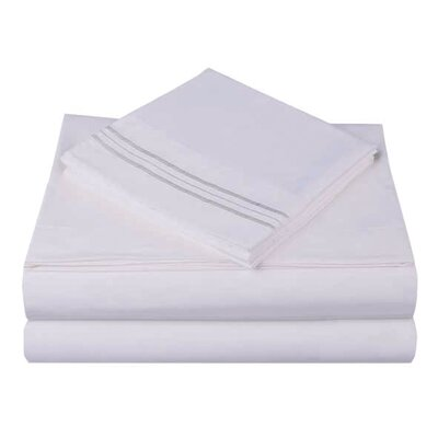 1800 Series Collection Sheet Set Size: Full, Color: Blush