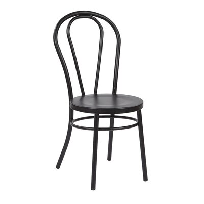 Odessa Side Chair Finish: Black