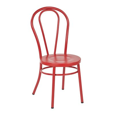 Odessa Side Chair Finish: Red