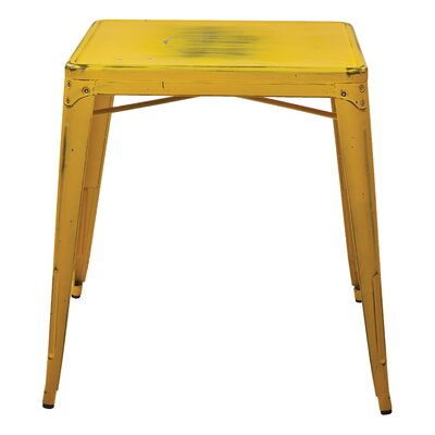 Krishtha Dining Table Finish: Antique Yellow with Blue Specks