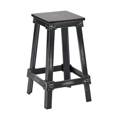 Buharkent 26 Bar Stool Finish: Antique Black