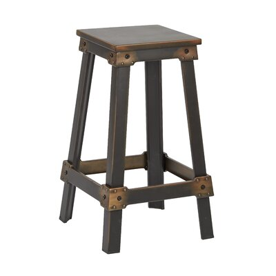 Buharkent 26 Bar Stool Finish: Antique Copper
