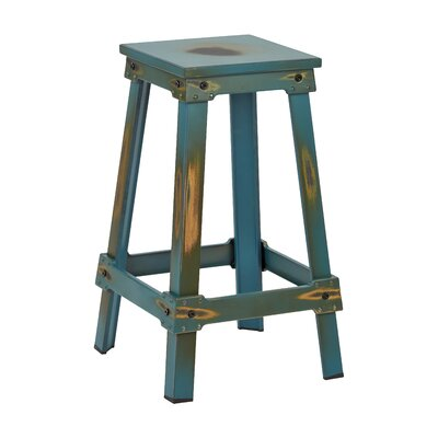 Buharkent 26 Bar Stool Finish: Antique Turquoise