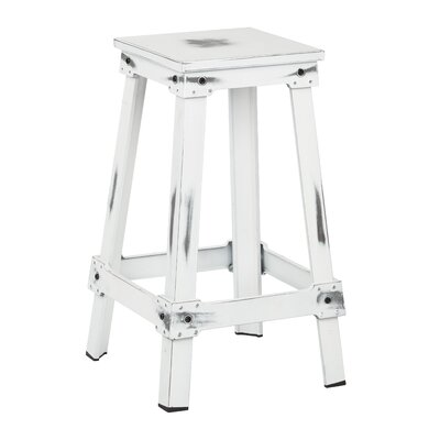 Buharkent 26 Bar Stool Finish: Antique White
