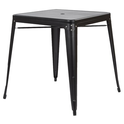 Bristow Dinning Table Finish: Matte Black