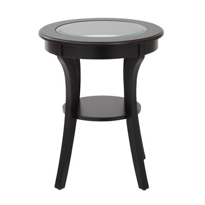 Harper End Table Finish: Brushed Black