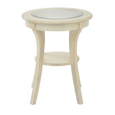 Harper End Table Finish: Antique White