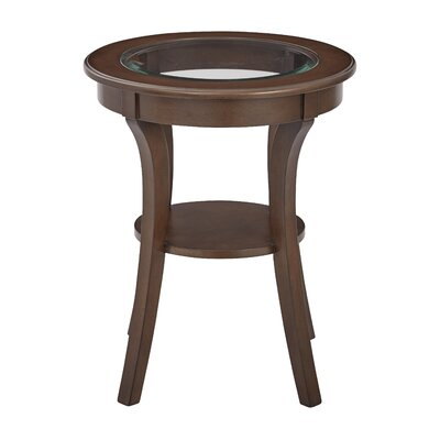 Harper End Table Color: Macchiato