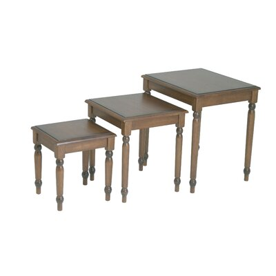 Bad credit financing Knob Hill 3 Piece Nesting Tables...