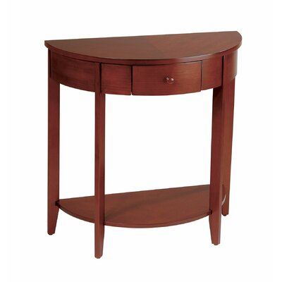 Cheap OSP Designs Madison Half Moon Console Table (OSP1157)