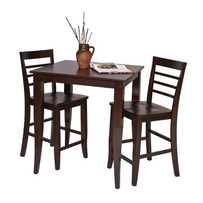 Jamestown 3 Piece Pub Table Set