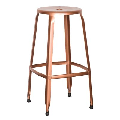 Newark Bar Stool Finish: Copper