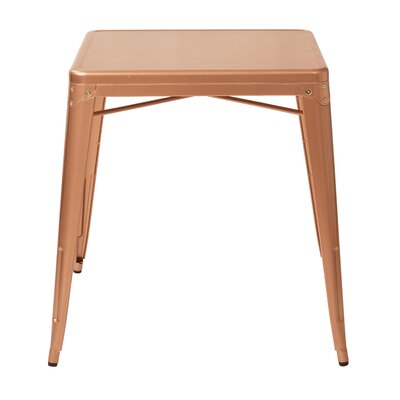 Krishtha Dining Table Finish: Copper