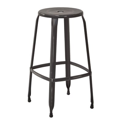 Newark Bar Stool Finish: Antique Black