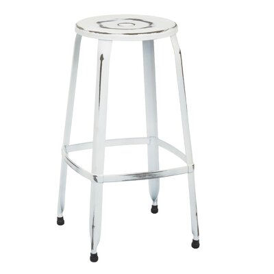 Newark 30 Bar Stool Finish: Antique White