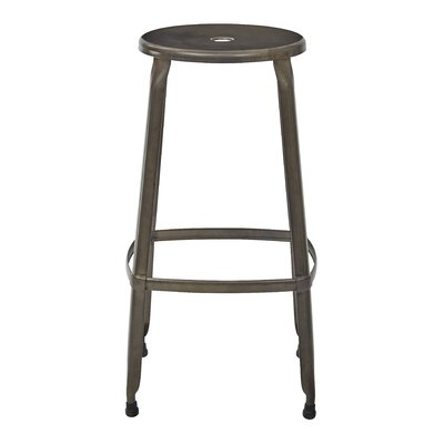 Newark 30 Bar Stool Finish: Matte Gunmetal