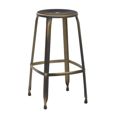 Newark 30 Bar Stool Finish: Antique Copper