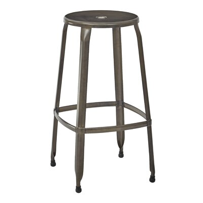 Newark Bar Stool Finish: Antique Copper
