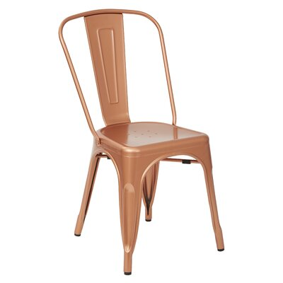 Fineview Dining Side Chair Finish: Copper